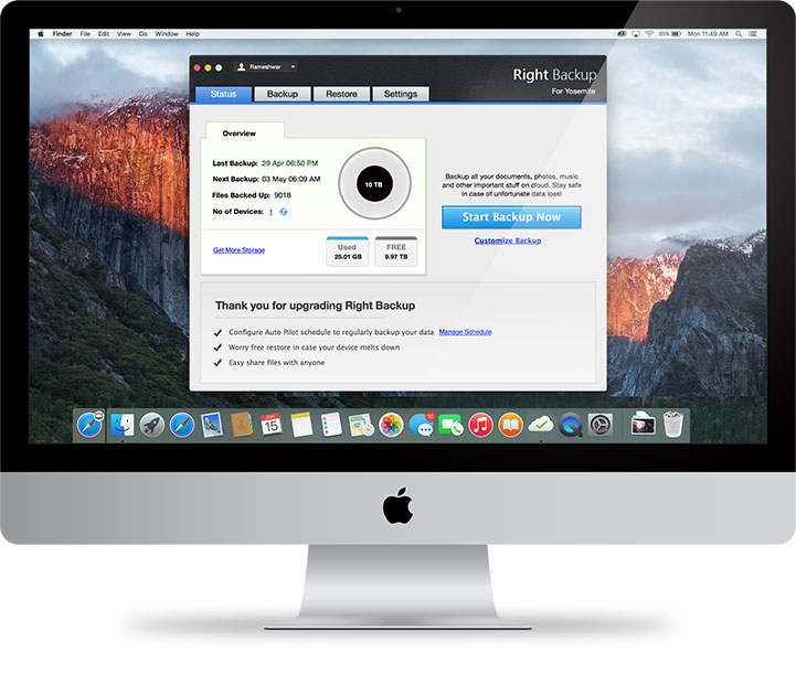Backup software Mac""